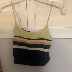 Pacsun tank top cropped